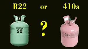 تفاوت گاز R410 با گاز R22 در کولرگازی